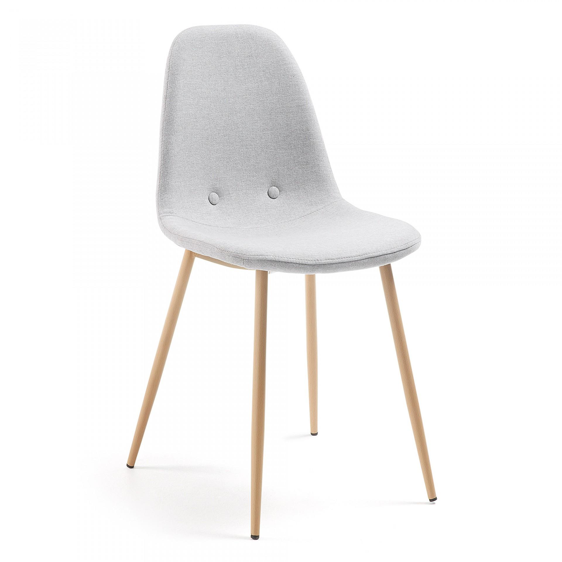 Cadeira estofada Yare