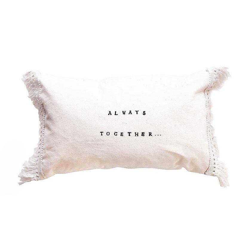 """Almofada """"Always together"""", 25x40 cm"""