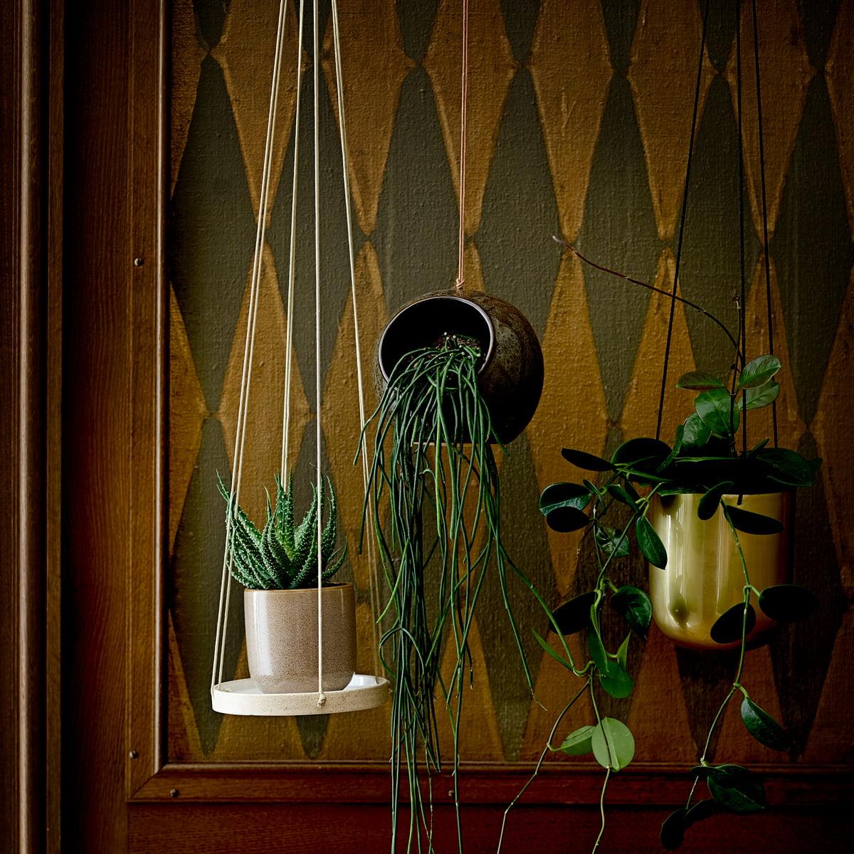 Suporte p/suspender vasos, cerâmica