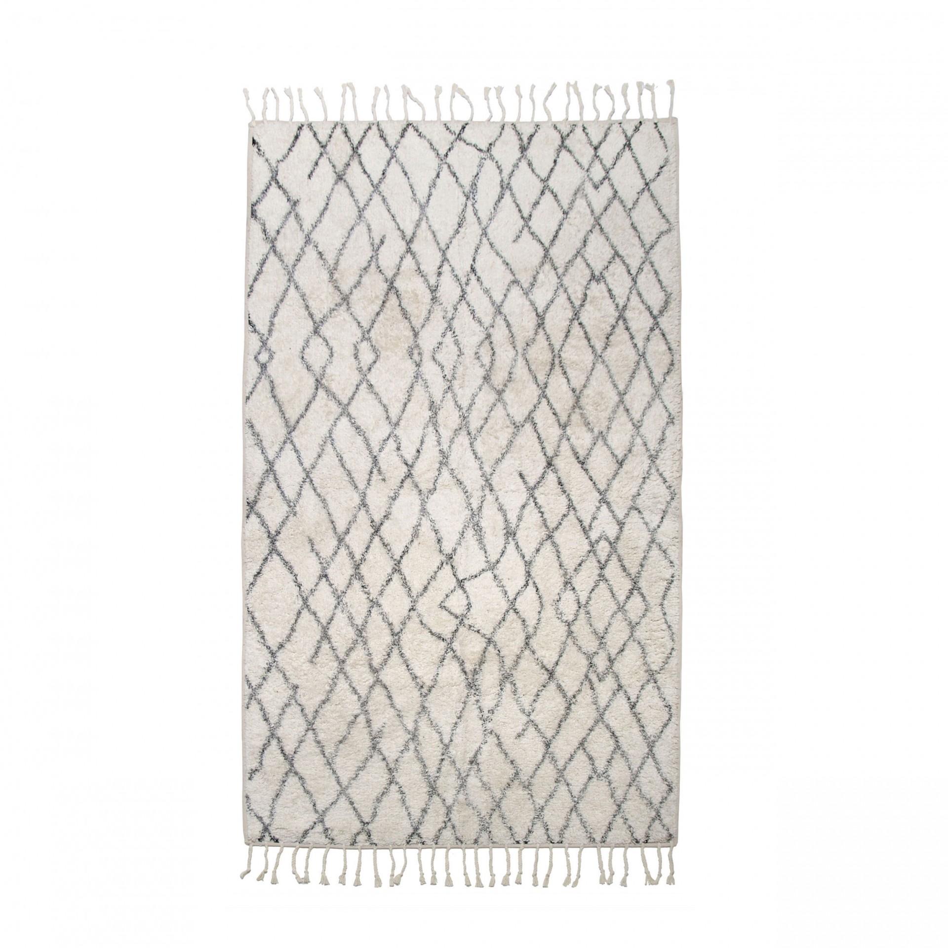 Tapete Berbere, p/casa de banho, 90x175 cm