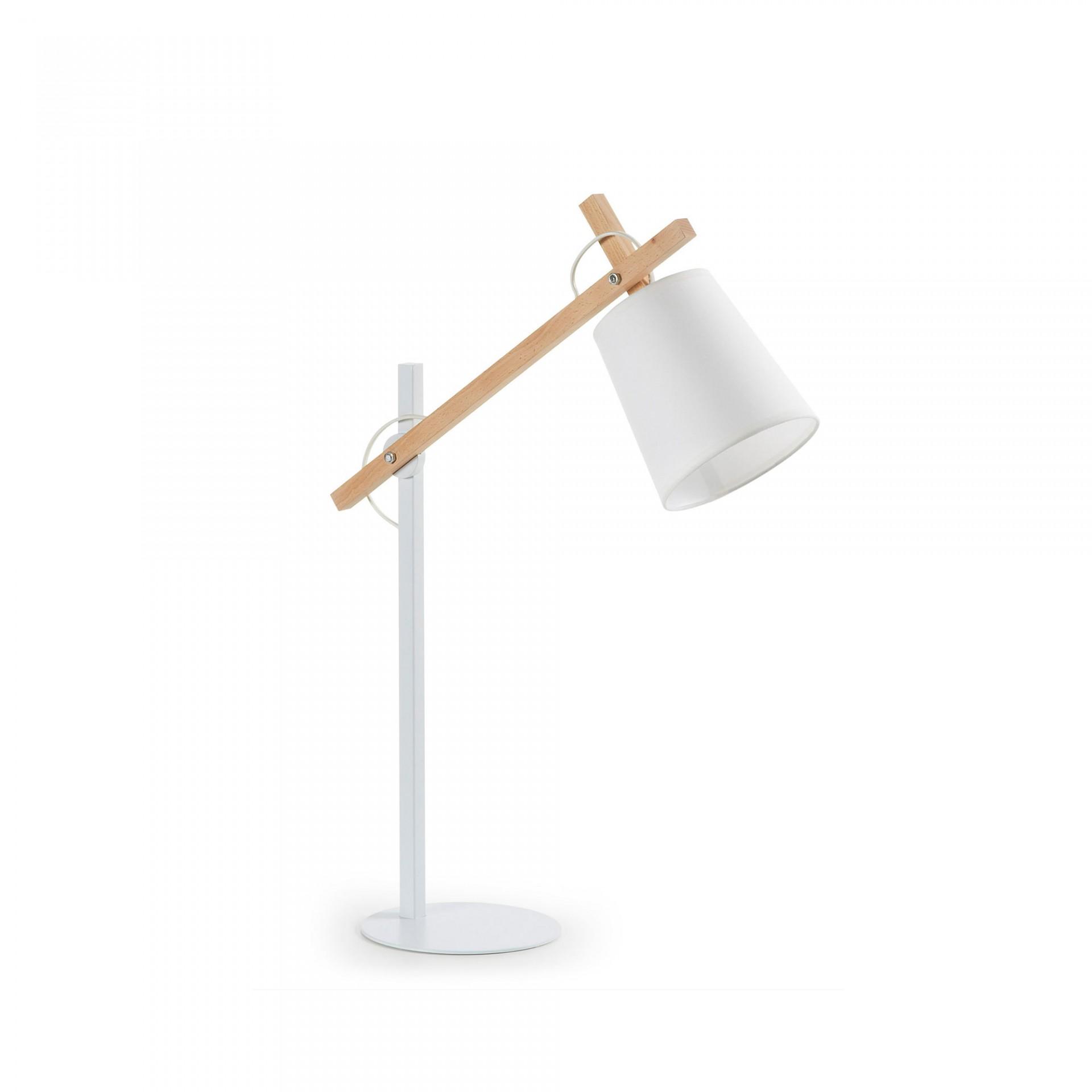 Candeeiro de mesa Zovik, Ø15x65 cm