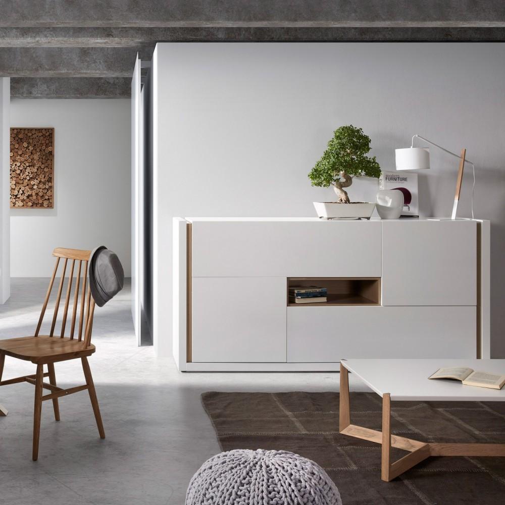Candeeiro de mesa Zizar, Ø20x55cm