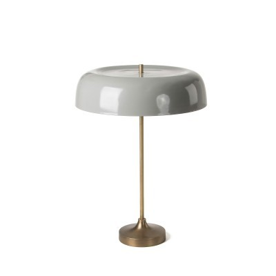Candeeiro de mesa em metal lacado