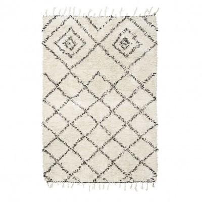 Tapete Kuba em algodão,  200x140 cm