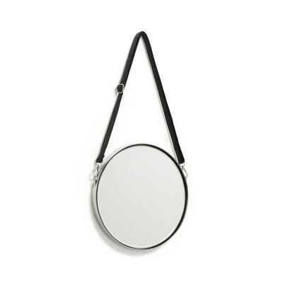 Espelho Elga, metal, Ø30 cm