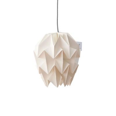 Candeeiro de papel Origâmi, modelo Amencer