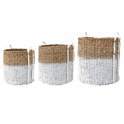 Cestas em seagrass, (Conj.3)