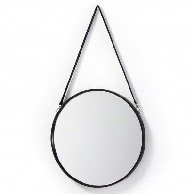 Espelho Leroy em metal, Ø50 cm