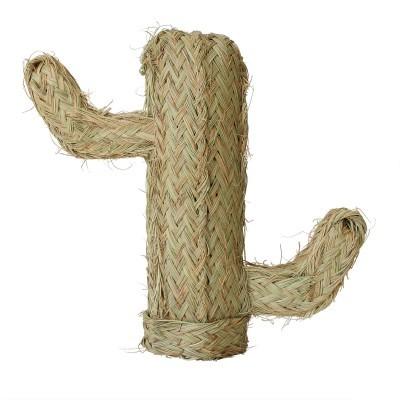 Cacto decorativo em esparto, 40 cm