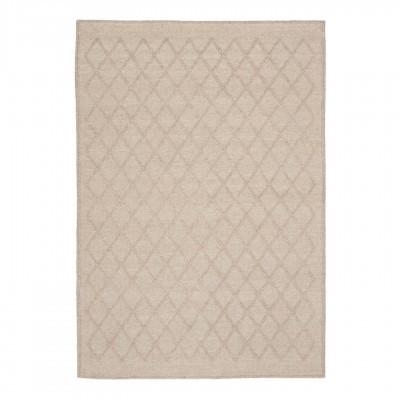 Tapete Syba, lã/nylon, bege, 160x230 cm
