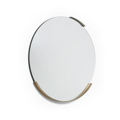 Espelho Ziga, metal, Ø51 cm