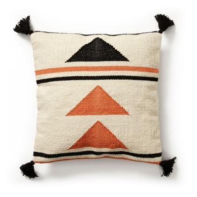 Capa de almofada Braft, multicolor, algodão, 45x45 cm