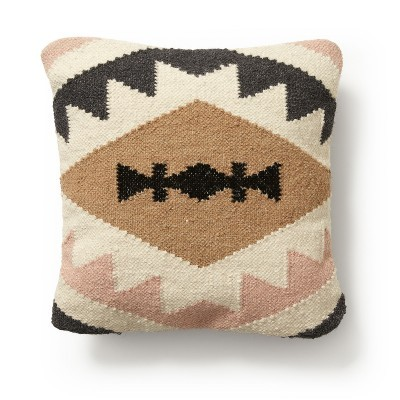 Capa de almofada Galler, multicolor, algodão, 45x45 cm