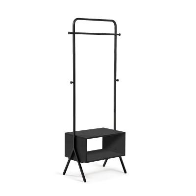 Porta cabides Bent, MDF lacado/metal, 74x42x180