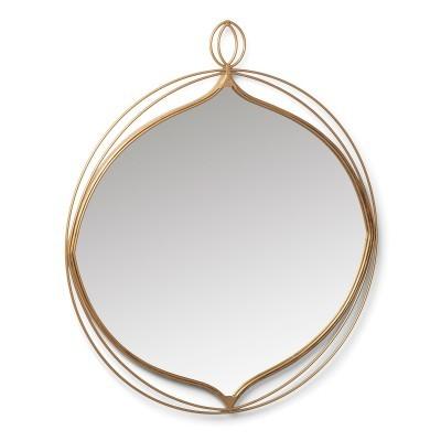 Espelho Star, metal, 79,5x70 cm