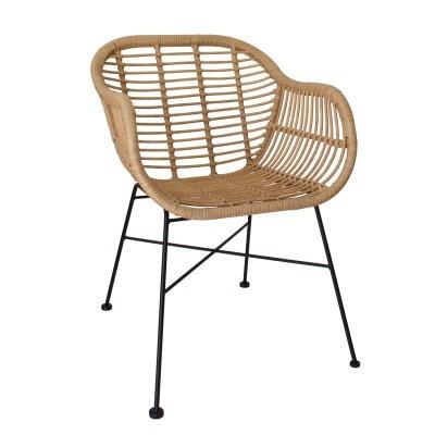 Cadeira Vintage em bambú