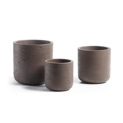 Vasos Must em concreto, (Conj.3)
