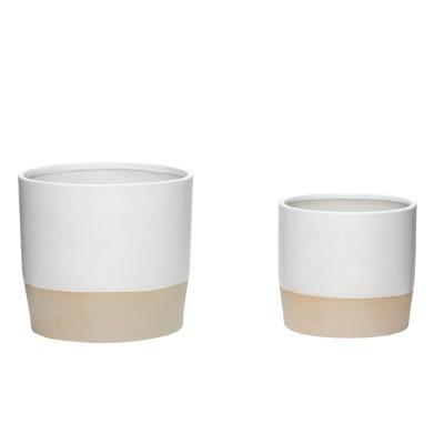 Vasos em cerâmica, (Conj.2)