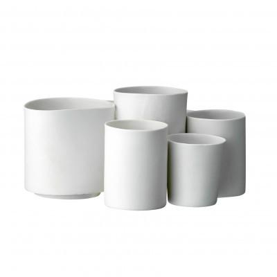 Potes em porcelana, (Conj.8)