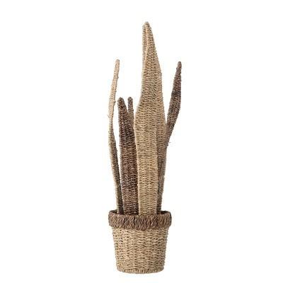 Vaso decorativo, bankuan grass, Ø15x66