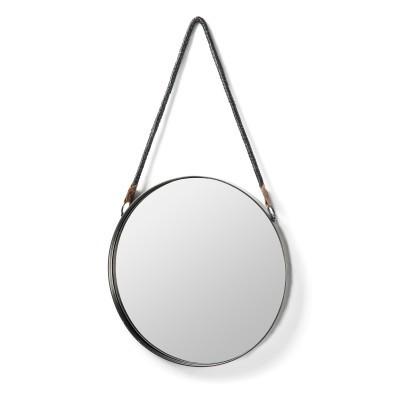 Espelho Stella em metal, Ø39 cm