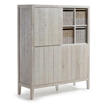 Aparador em madeira de pinho, 117x140 cm
