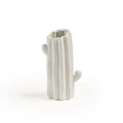 Jarra Cactus, cerâmica, Ø10x21 cm