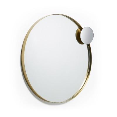Espelho Onmy, metal, Ø76 cm