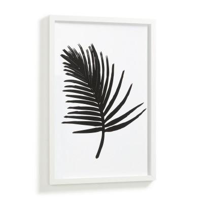 Quadro de parede Apek, branco/preto, 43x63 cm
