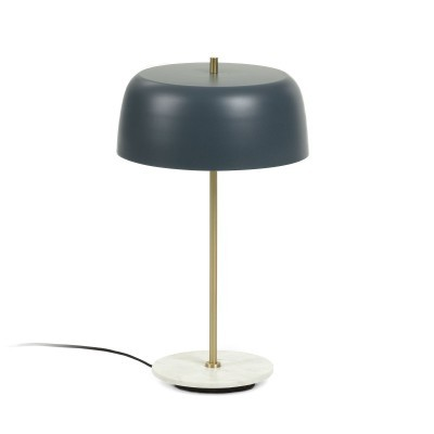 Candeeiro de mesa em metal, Ø31x53 cm