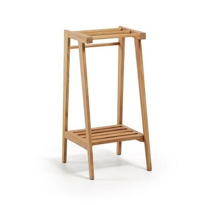 Toalheiro p/casa de banho, madeira teca, 81x40 cm