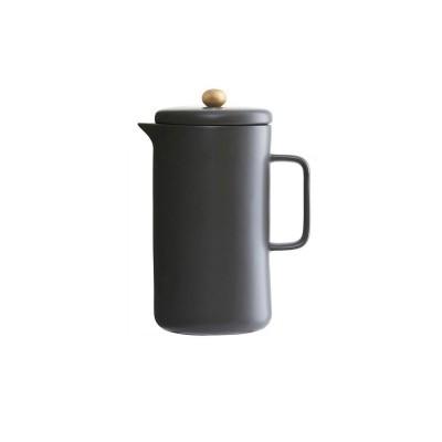 Cafeteira em porcelana, preto