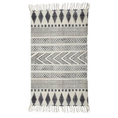 Tapete Block em algodão, 240x70 cm