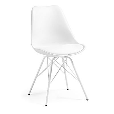 Cadeira Rafe, c/assento acolchoado, 43x43x86