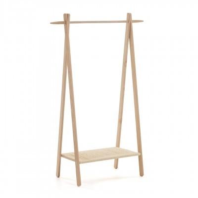 Porta cabides Nattan, madeira de carvalho, 95x152 cm