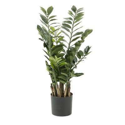 Smarag artificial, c/vaso plástico, 55x100 cm