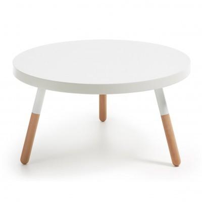 Mesa de centro em madeira faia, Ø80 cm