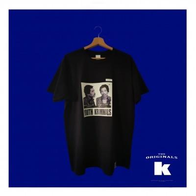 T-Shirt Youth Kriminals (JIMI HENDRIX)