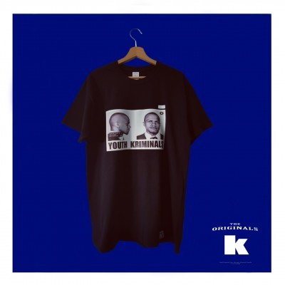 T-Shirt Youth Kriminals (MALCOLM-X)
