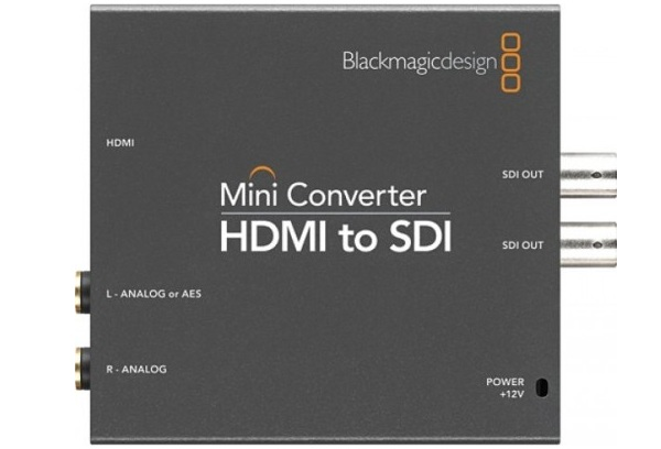 Blackmagic Mini Converter - HDMI to SDI 2