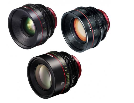 Canon EF Primes Bundle 24/85/135 (M)