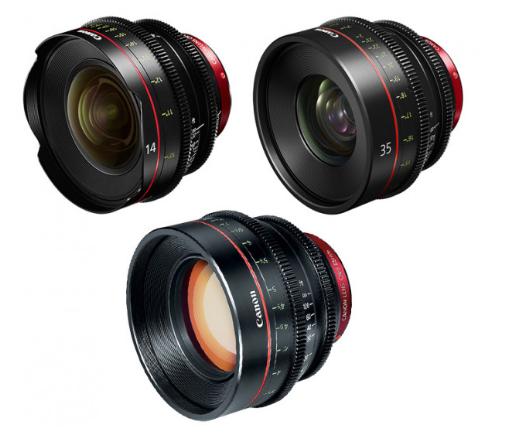 Canon EF Primes Bundle 14/35/85 (M)