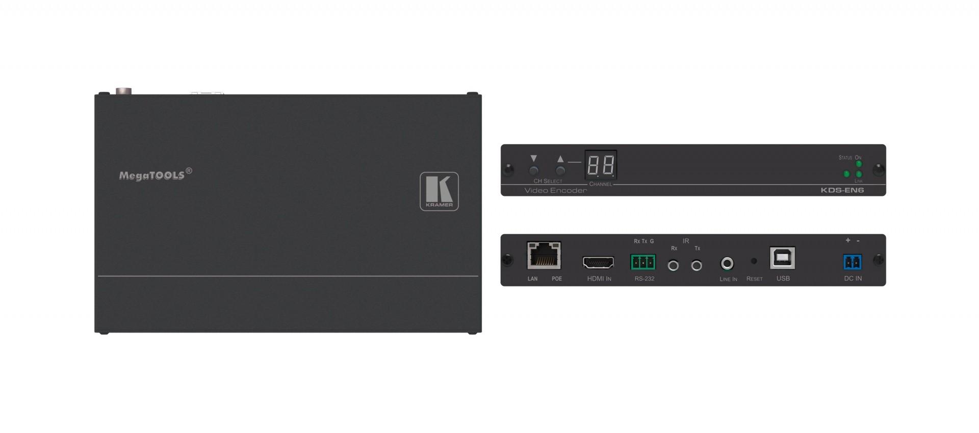 Kramer KDS-EN6 4K60 4:2:0 HDCP 2.2 Video Encoder