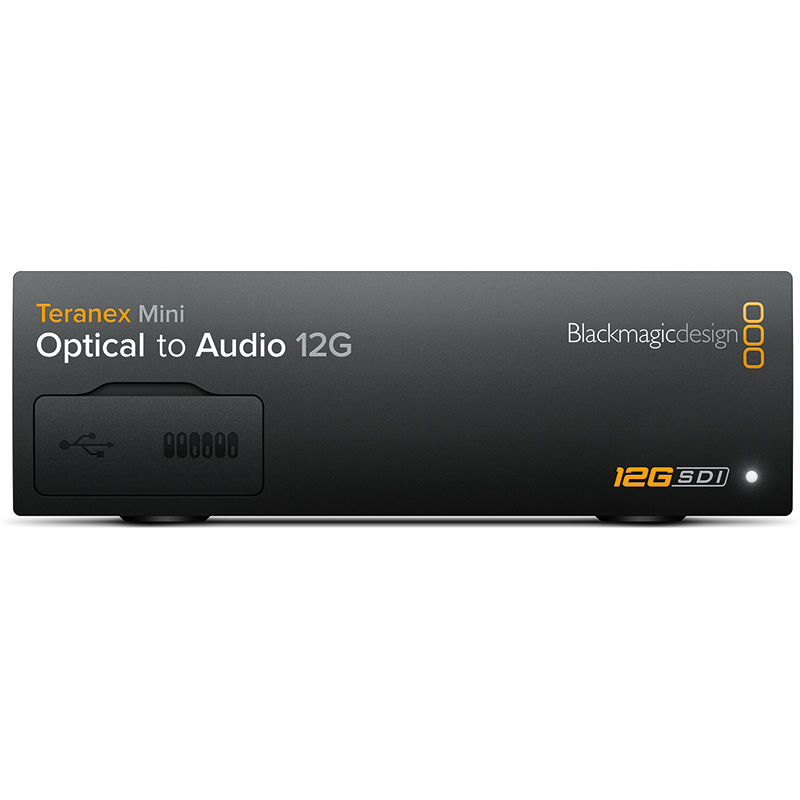 Blackmagic Teranex Mini - Optical to Audio 12G