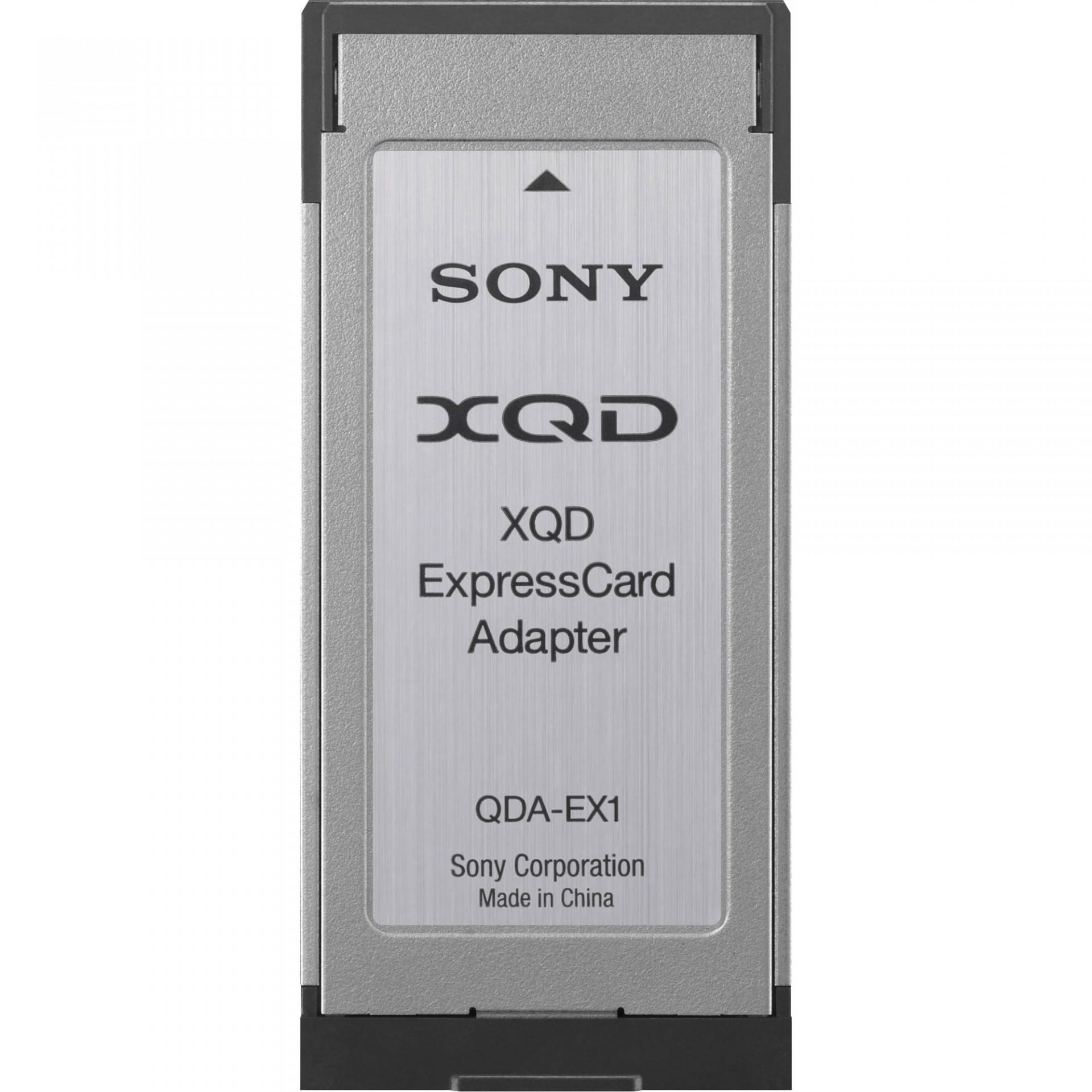 Sony Adaptador QDA-EX1 XQD ExpressCard