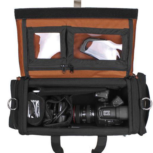 Porta Brace DVO-C3500 Saco de Transporte Organizador, para Canon EOS C300 ou EOS C500, Preto