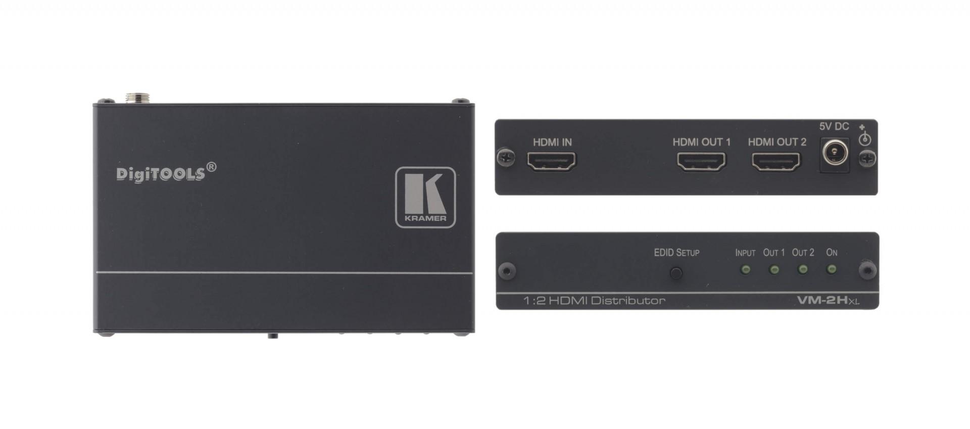 Kramer 1:2 HDMI Distribution Amplifier - VM-2HXL