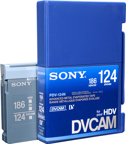 Sony Cassete 1/4