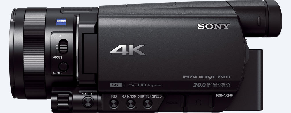 Sony FDR-AX100 Camcorder 4K
