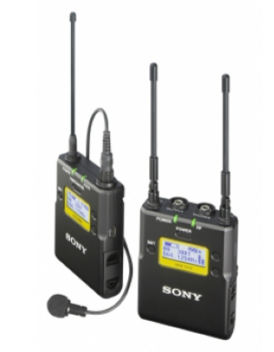 Sony Kit Microfone Wireless